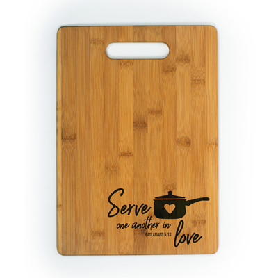 Custom engraved eco-friendly cutting boards, Engraver's Den