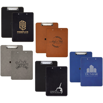 Engraved promotional notebooks, Engraver's Den