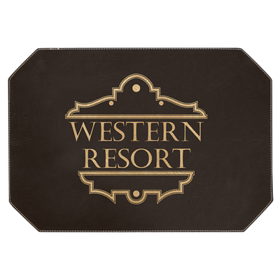 Custom engraved travel & hospitality signs & signage, Engraver's Den