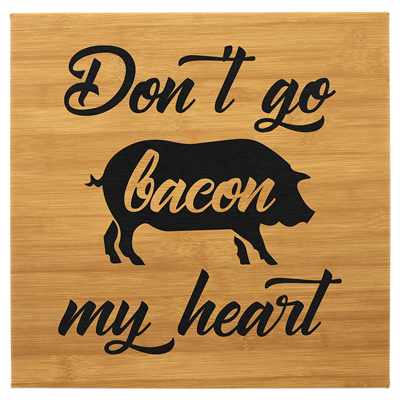 Custom engraved wooden cutting boards from Engraver's Denn