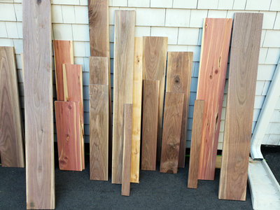 Wood selections for custom wood engraving, Engraver's Den