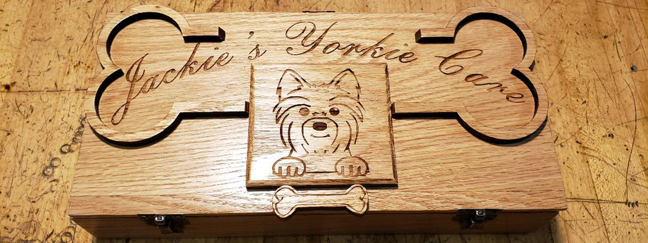 Personalized pet products, pet memorial plaques, custom engraved cat & dog gifts, pet promotional products, Engraver's Den, MA, RI