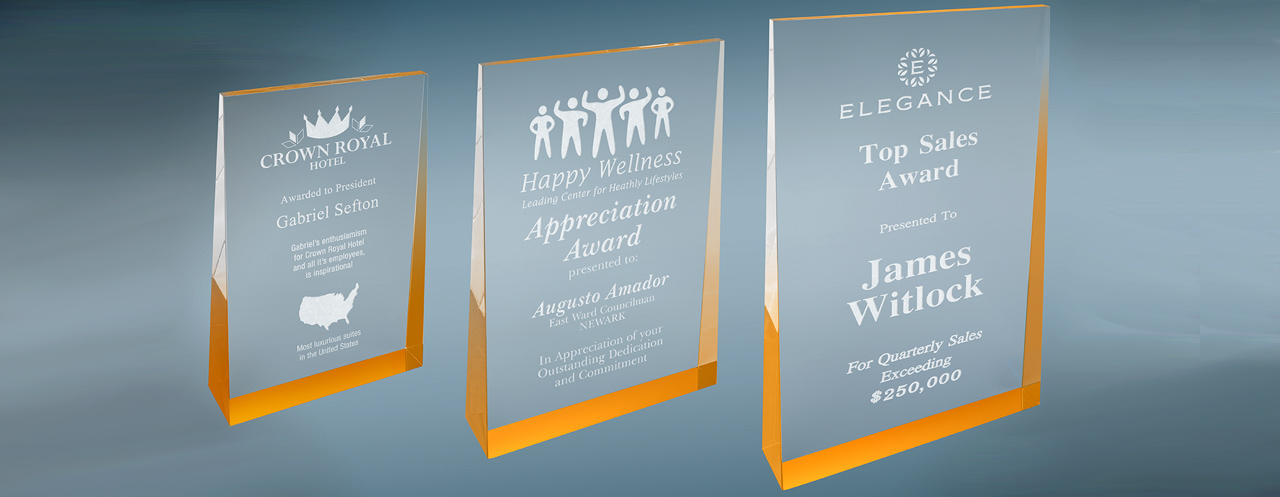 Are you looking for corporate engraving awards?